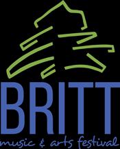 Britt Music and Arts Festival Logo